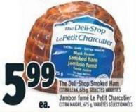 The Deli-shop Smoked Ham Extra Lean - 675 G