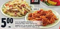 Fresh 2 Go Spaghetti & Meatballs Or Roasted Red Pepper Chicken Penne 368 - 405 g