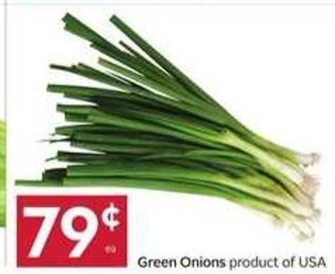 Green Onions Product of USA