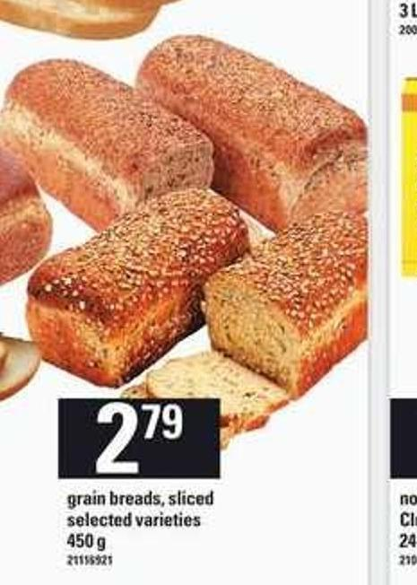 Grain Breads - Sliced - 450 G