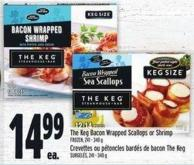 The Keg Bacon Wrapped Scallops Or Shrimp