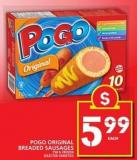 Pogo Original Breaded Sausages