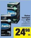 Thrive Lozenges - 1 Mg Or GUM - 2 Mg - 108's