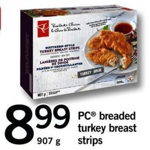 PC Breaded Turkey Breast Strips