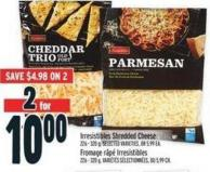 Irresistibles Shredded Cheese 226 - 320 g