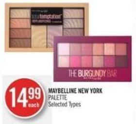 Maybelline New York Palette