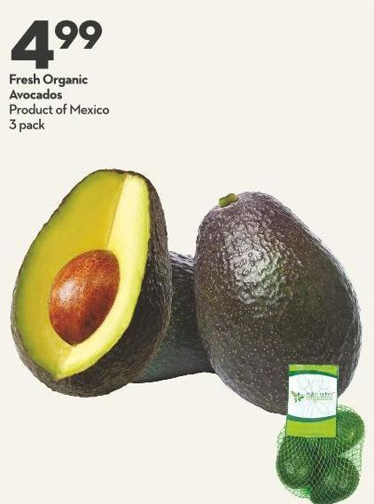 Fresh Organic  Avocados