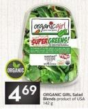 Organic Girl Salad Blends