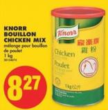 Knorr Bouillon Chicken Mix - 1 Kg