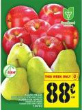 Anjou Pears Or Ambrosia Apples