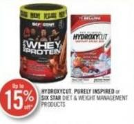 Hydroxycut - Purely Inspired or Six Star Diet & Weight Management Products