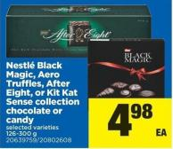 Nestlé Black Magic - Aero Truffles - After Eight - Or Kit Kat Sense Collection Chocolate Or Candy - 126-300 g