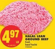 Halal Lean Ground Beef