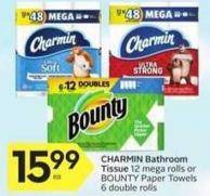 Charmin Bathroom Tissue - 50 Air Miles