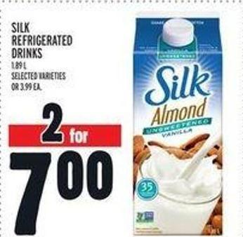 Silk Refrigerated Drinks