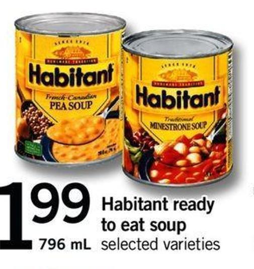 Habitant Ready To Eat Soup - 796 Ml