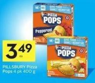 Pillsbury Pizza Pops 4 Pk 400 g