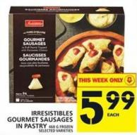 Irresistibles Gourmet Sausages In Pastry