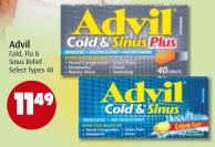 Advil Cold - Flu & Sinus Relief