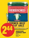 Hereford Corned Beef - 340 g