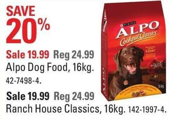 Alpo Dog Food - 16kg