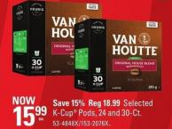 Keurig Selected K-cup Pods - 24 and 30-ct