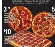 From Our Chefs Personal Pizza - (2 Quarter Slices) - 211-318 g