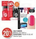 Sally Hansen Miracel Gel Duos or Sensationail Polish To Gel Kit