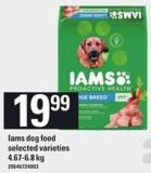 Iams Dog Food - 4.67-6.8 Kg
