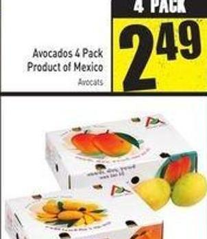 6 Pack Case Alphonso or Kesar Mangoes Product of India