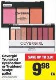 Covergirl Trunaked Eyeshadow Or Trublend Sculpt Pallet
