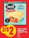 Swift Beef - Chicken or Turkey Pie  - 190 g