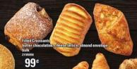 Filled Croissants Butter Chocolatine - Cheese Lattice - Almond Envelope - Bulk