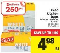 Glad Kitchen Bags - 10-52's