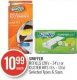 Swiffer Refills (20's - 24's) or Duster Kits (6's - 10's)