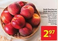 Bulk Peaches or Bulk Nectarines