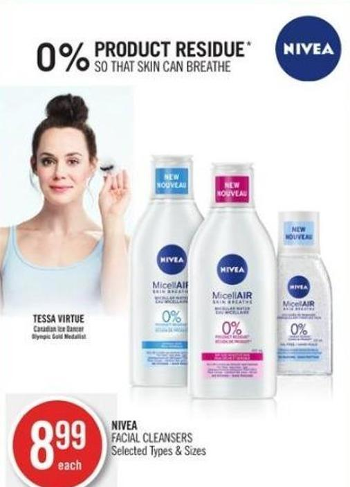 Nivea Facial Cleansers