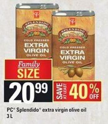 PC Splendido Extra Virgin Olive Oil -