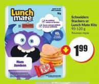 Schneiders Stackers or Lunch Mate Kits 90-120 g