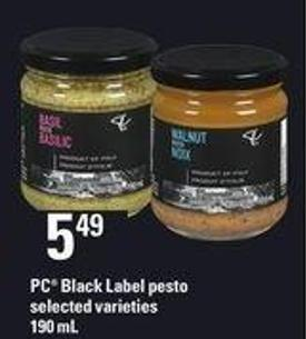 PC Black Label Pesto - 190 mL