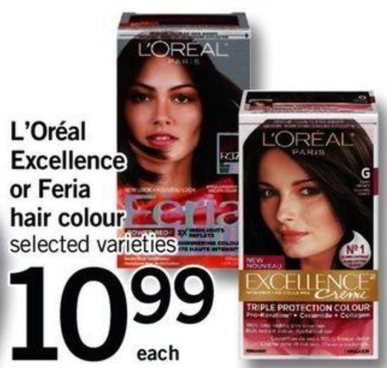 L'oréal Excellence Or Feria Hair Colour