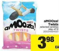 Amooza! Twists - Pkg of 12