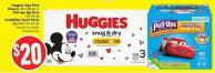 Huggies Giga Pack Diapers 48-108 Pk or Pull-Ups Big Pack 40-54 Pk Goodnites Youth Pants Big Pack 24-32 Pk