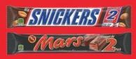 Mars Chocolate King Size Bars - 85-93 g