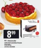 PC Cheesecake - 540/600 g