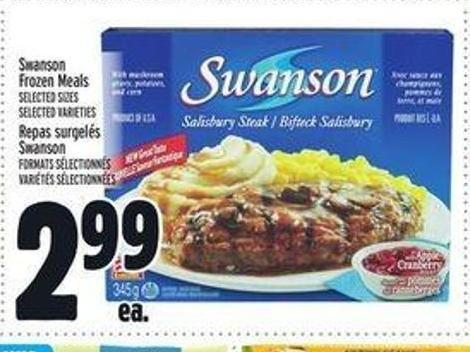 Swanson Frozen Meals