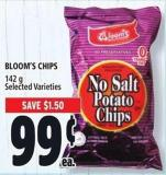 Bloom's Chips 142 g