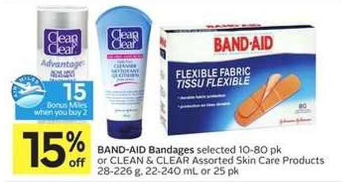 Band-aid Bandages - 15 Air Miles
