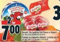Babybel - The Laughing Cow Cheese Or Dippers 120 - 140 g