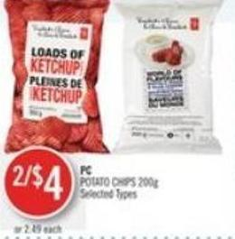 PC Potato Chips 200g